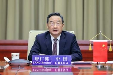 唐仁健同德国食品和农业部部长举行视频会谈